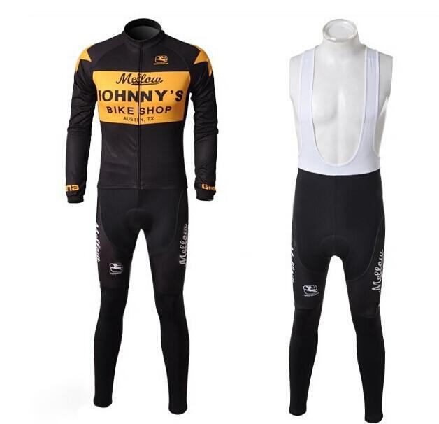 Spring Autumn Long Sleeves Cycling Jersey+Bib Pants / Sports Clothing Shorts + Shirt - Beautiful Jersey store