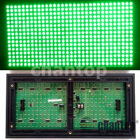 P10 Green Color Outdoor waterproof LED Screen Display module High Brightness 320*160mm 32*16pixels for monochromatic led lintel