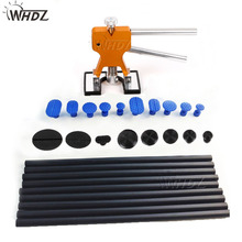 29pcs/set Hand Dent Lifter Dent Puller Glue stick PDR Damage Glue Pulling Tab Lifter Paintless Dent Repair Dent Removal Tools