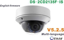 Buy 2015 New model DS-2CD2135F-IS replace DS-2CD2132F-IS & DS-2CD2132-I 3Mp Audio Alarm I/O interface Dome CCTV Camera POE IP H265 for $81.88 in AliExpress store