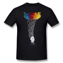 2015 Print Metaphysics Men t shirt Exercise boyfriend Short Sleeve 100% Cotton 3D tshirt Free Shipping