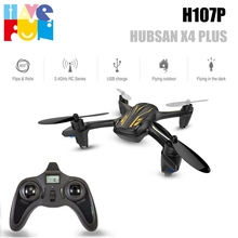 Hubsan X4 Plus H107P 2.4G 4CH Helicopter RC Quadcopter Altitude Hold Model RTF Headless Mode with Led Lights Drone
