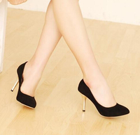 New Arrival Ladies High Heels Stiletto Ladies Casual Shoes European Large Size 34-47 Women High Heels 45