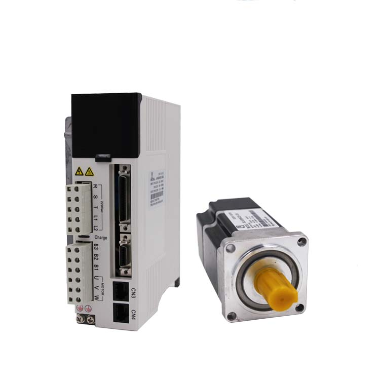 NEMA24 60mm 0.64Nm 3000rpm 200w servo motor driver kit 20Bit Absolute Encoder 3M Cable JASD2002-20B+60JASM5022K-20B Limited)