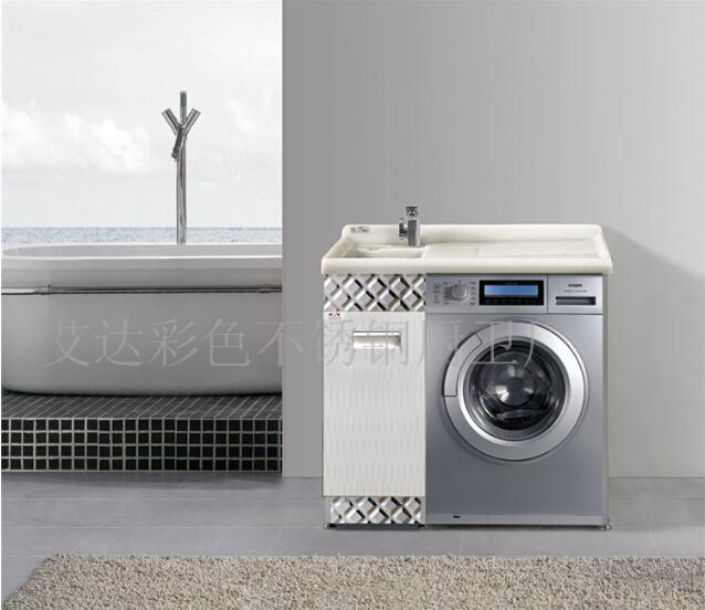 Set De Baño Acero Inoxidable:de lavadora de acero inoxidable gabinete / baño de acero inoxidable