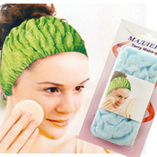 2218 Senior stretch cotton headband muffled when bathing beauty makeup 23g(China (Mainland))