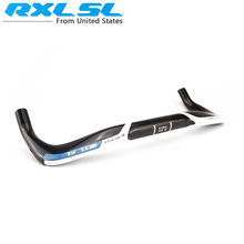 Buy RXL SL 3K TT Handlebar Road Bike Rest Handlebars Full Carbon TT Handlebar Carbon Bicycle Aero Bicycle Part 400/420/440mm, Blue for $30.24 in AliExpress store