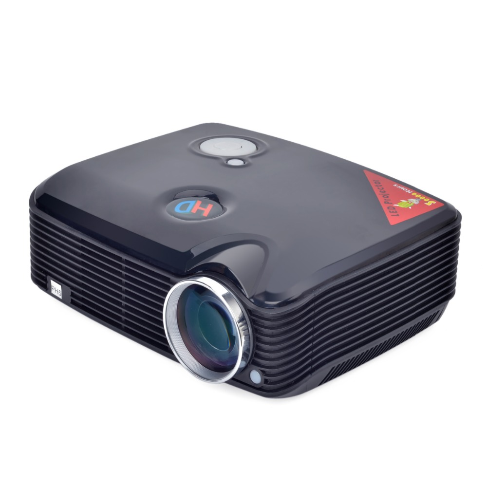 PH5 1080P HD 3D LED Projector 2500LM VGA AV TV HDMI USB Inputs Home Theater Projector(China (Mainland))
