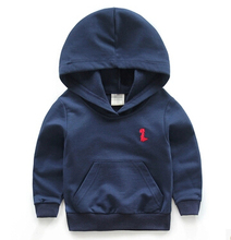 2015 new autumn many colour kids clothes long sleeve children hoodies kids clothing sweatshirts 4-8age girl(China (Mainland))