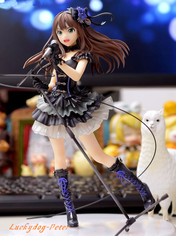 Cinderalla Girls The Idolm@Ster Action Figure Toy 1/8 scale painted figure Bandai Namco Games Shibuya Rin Sexy figure doll Anime(China (Mainland))