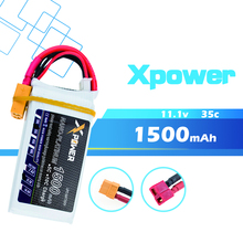 Buy Lipo battery 10PCS 11.1V 1500mAh 3s 35C max 40C Xpower batteries XT60 / T plug RC Helicopter Quadcopter drone part for $111.34 in AliExpress store