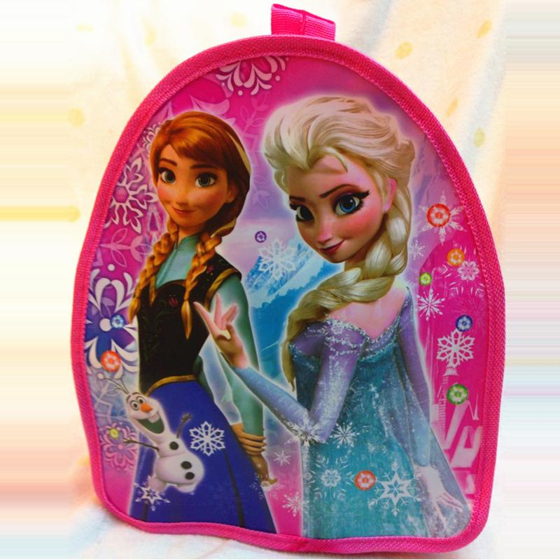 Child cartoon bags toy mini Elsa schoolbags cute backpack Children princess bags education toy baby Snack bag