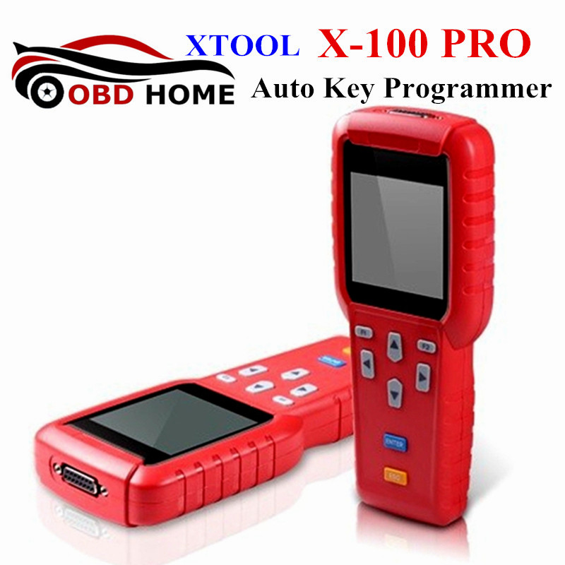 New Design XTool X-100 Pro Auto Key Programmer X 100 PRO Remote Control Programming With Odometer Correction OBD2 Tool X100(China (Mainland))