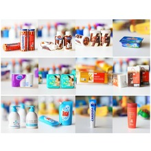 12PCS Pretend Play Toy Supermarket Set Dollhouse Supplies Accessories Fit Rement Size Toy(China (Mainland))