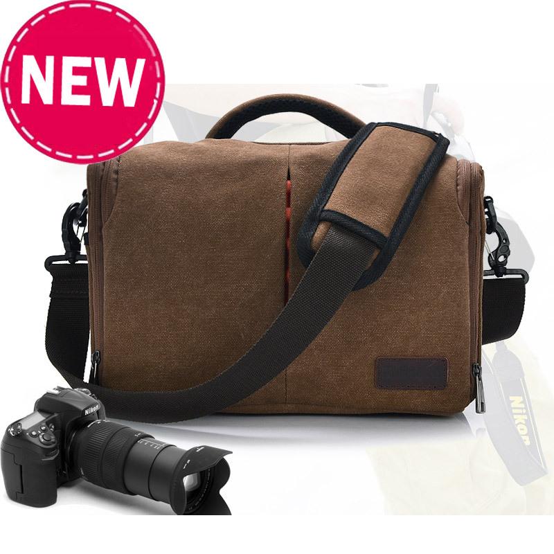 Hight quality canvas camera bags Canon nikon SLR men messenger bag - Shenzhen Aitop Co., LTD store