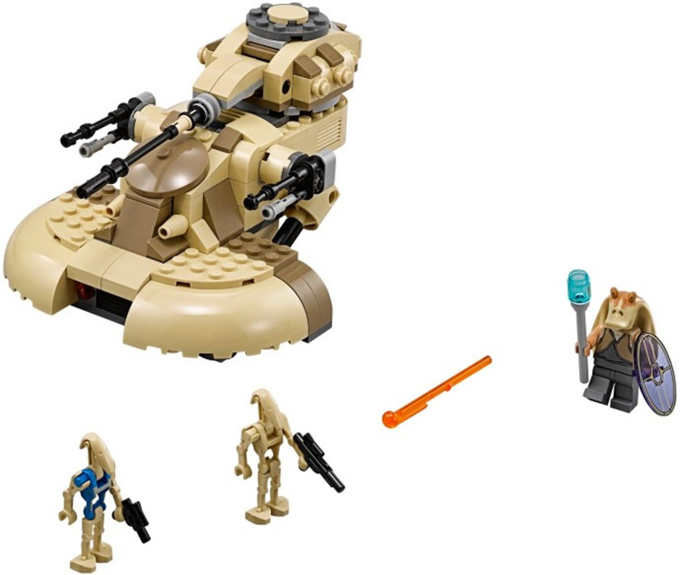 Star Wars AAT factory sealed Battle Droid Robot Space block sets Minifigures Gungun Soldier Shield Boomer kid toys(China (Mainland))