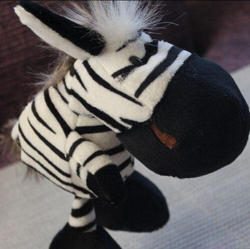 Lovely zebra doll Classic interesting plush toys 25cm(9.84'')38cm(14.96'')50cm(19.68'')best holiday gift for the children wh112(China (Mainland))