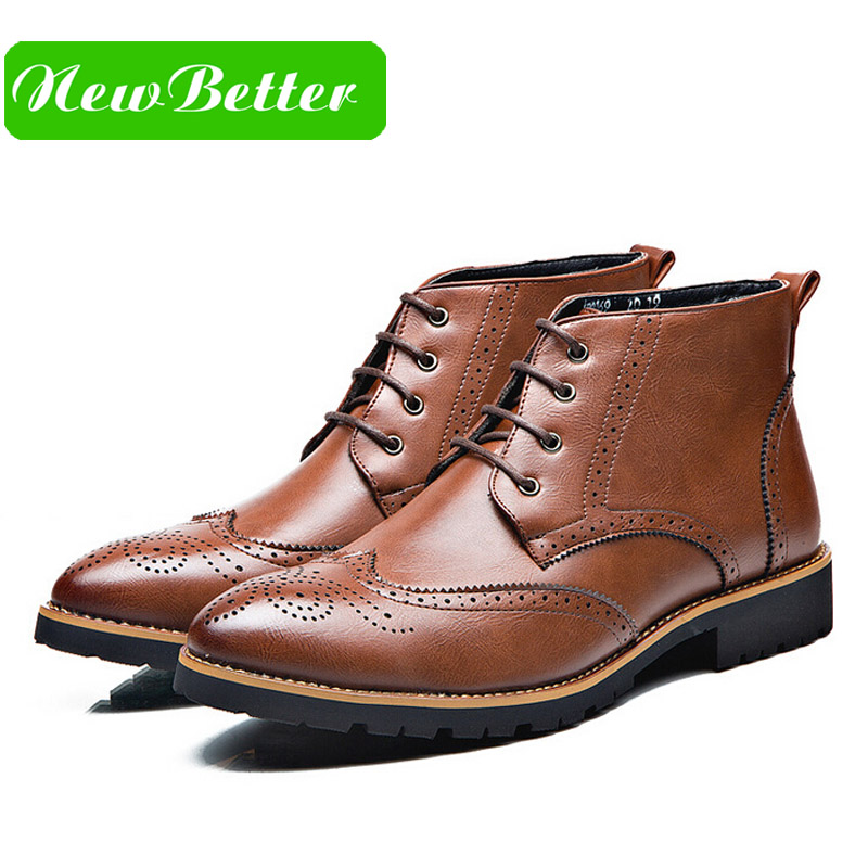 Popular Winter Dress Boots Men-Buy Cheap Winter Dress Boots Men ...