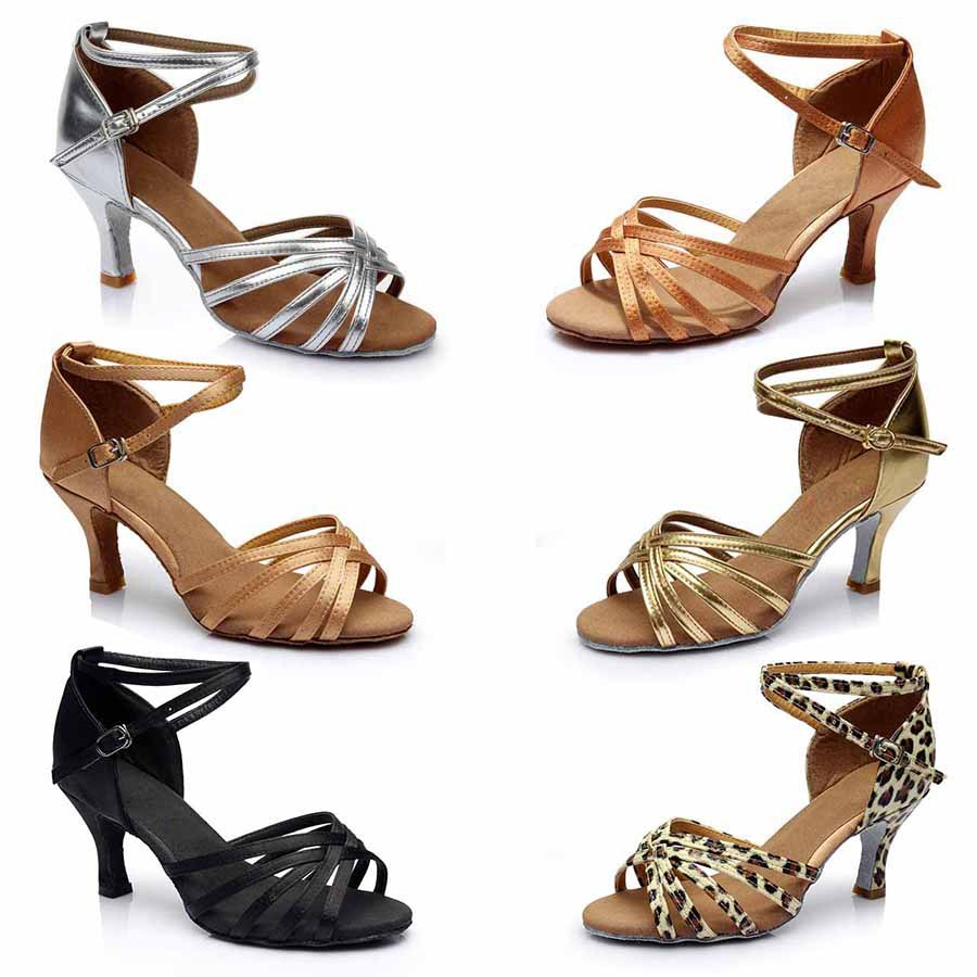 new in store wholesale Brand New Women's Ballroom Latin Tango Dance Shoes 5CM and 7CM heeled dancing shoes Salsa(China (Mainland))