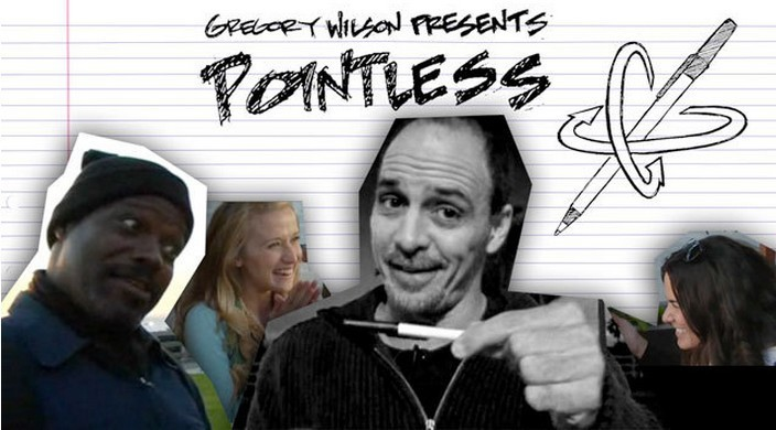 Free shipping Pointless ( With Gimmick ) by Gregory Wilson / close-up stage street pen magic tricks(China (Mainland))