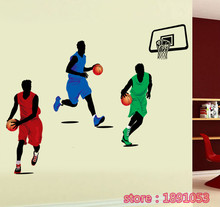 Buy Basketball pattern wall stickers children's room baby room living room bedroom sofa TV background decorative stickers for $9.39 in AliExpress store