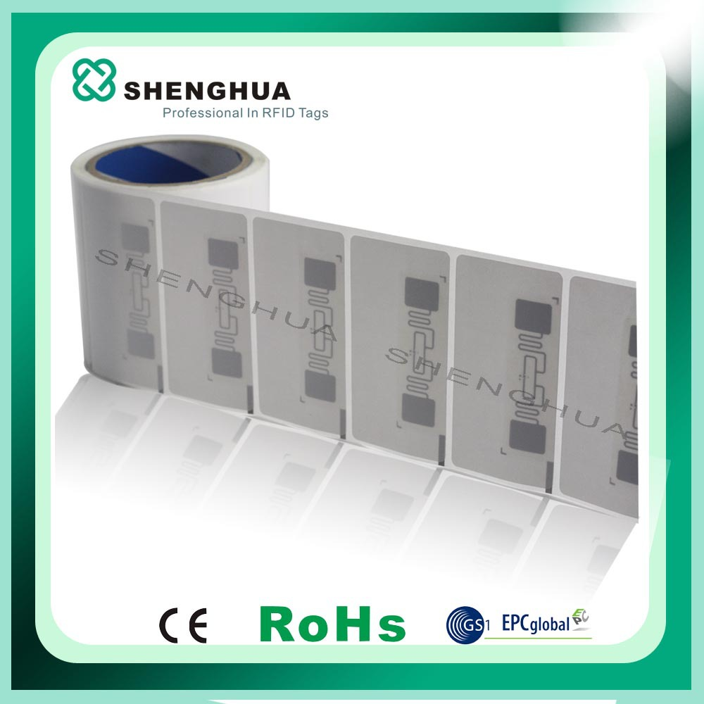 Excellent Quanlity Rfid Uhf Adhesive Lable/rfid Sticker Ucode Hsl/customized Rfid Sticker(China (Mainland))