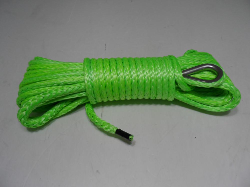 1/4 * 50ft atv utv лебедки, Буксировочный трос для бездорожья части, Amraid кевлар лебедка кабель для буксировки