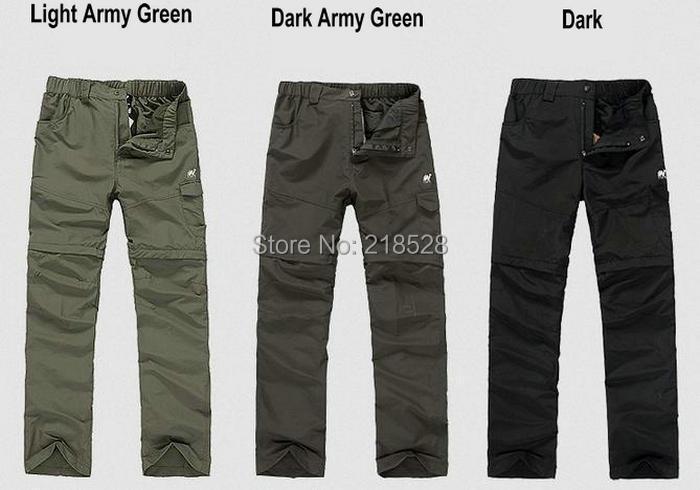 Men's windproof hiking pants waterproof 3 colors big size - Joyful Way Trading Ltd. store