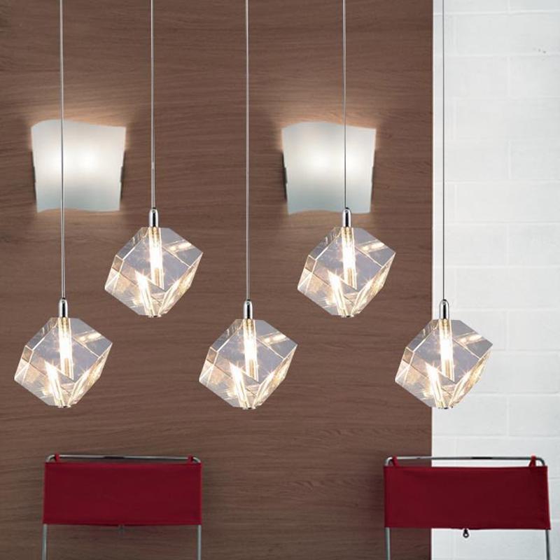 Crystal Hanging Lights Dining Room Light Restaurant Kitchen Bar Shop Crystal