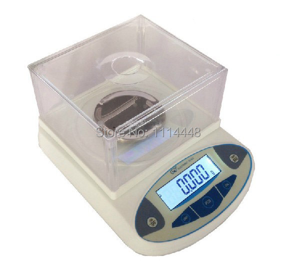 300 x 0 001g Digital Lab Analytical Balance Laboratory Scale Jewelery Electronic w LCD display Weight
