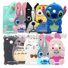 Buy Xiaomi redmi 3S Case 3D cartoon Stitch Cat Dog Rabbit Pgget silicone case cover xiaomi redmi 3 s 3S shell Redmi 3 pro for $3.59 in AliExpress store