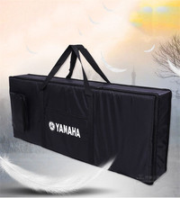 76 key professional Instrument keyboard piano bag thickened cover case double shoulder belt  for electronic organ free shipping(China (Mainland))