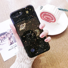 Buy Luxury Bling Star Universe Phone Case iPhone 7 7Plus Soft Silicone Shining Sparkling Back Cover Fundas iPhone 6 6s Plus for $2.87 in AliExpress store