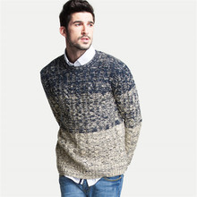 Nachuan Cashmere Sweater Men 2015 New arrival Mens Sweaters Striped Wool pullover Men O Neck Pull Homme Brand Men's Clothing(China (Mainland))