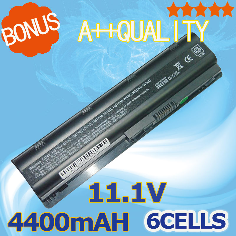 4400mAh Battery HP Pavilion DV3 DM4 DV5 DV6 DV7 G4 G6 G7 635 Compaq Presario CQ42 CQ72 MU09 MU06 593553-001 593554-001 - ShenZhen Nine King Co.,Ltd store