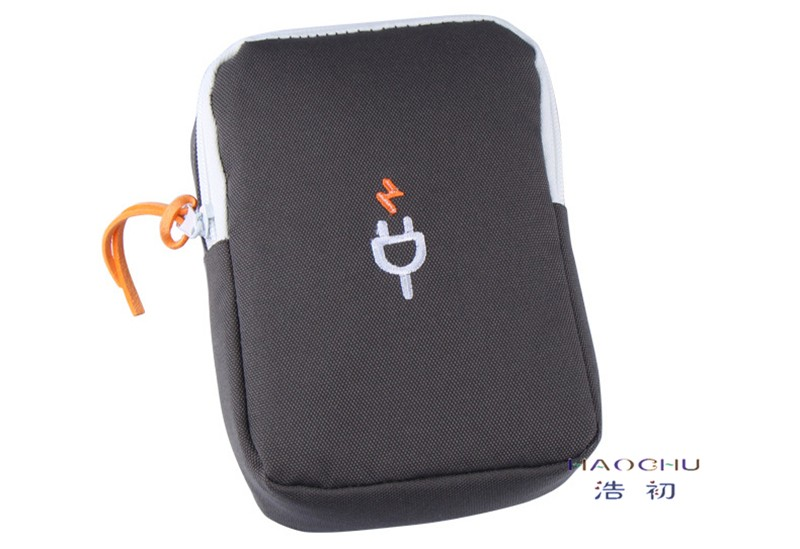 HAOCHU Earphon Cable Digital Gadget Devices USB Flash Drives Camera Travel Case Digital Electronic Accessories Storage Bag Pouch