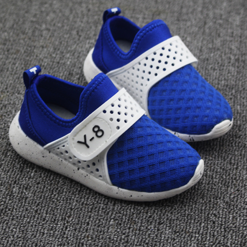Fall 2015 new sport casual shoes boy net cloth shoes a leather shoes Baby new men's shoes(China (Mainland))