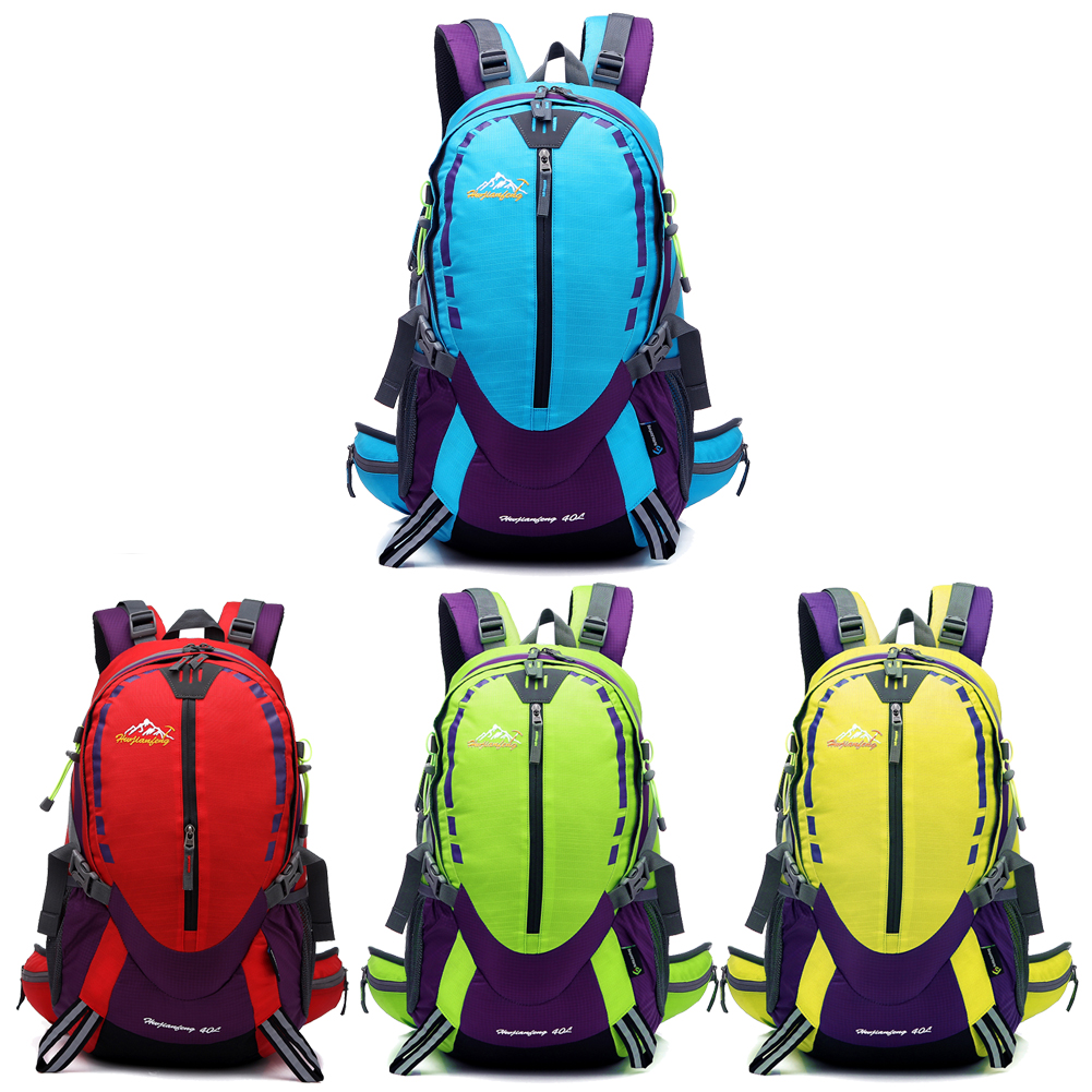 2016 Hot Sale 40L Waterproof Durable Outdoor Climbing Backpack Women&Men Hiking Athletic Sport Travel Backpack High Quality KSKS(China (Mainland))