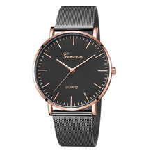 Fashion women's watches ladies wrist watches Classic Quartz Stainless Steel Wrist Watch Bracelet Watches wristwatch montre femme(China)
