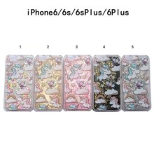 Buy Cartoon Unicorn Horse Cover Dynamic Paillette Glitter Stars Water Dynamic Liquid Case iPhone 4 4S SE 5 5S 5C & 6 6S 7 & Plus for $1.28 in AliExpress store