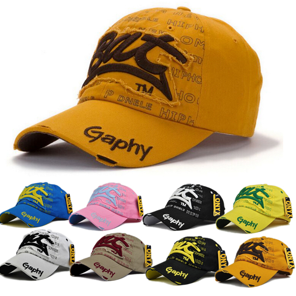 Men Women Outdoor Sports Baseball Golf Tennis Hiking Ball Cap Caps Hat New 8 Colors