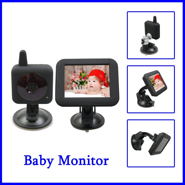 best selling 2 4ghz ir night vision wireless digital power save child baby mo. Black Bedroom Furniture Sets. Home Design Ideas