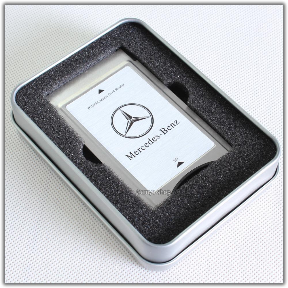 Genuine pcmcia multi card reader for mercedes benz 6 7 82 for Pcmcia mercedes benz