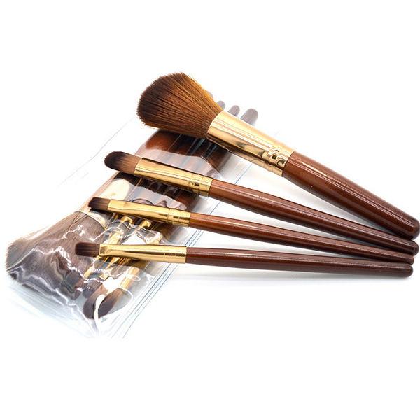 Professional Soft Cosmetic Makeup Brush Set Blush Brush from Mayilon company Cradient coffee colour(China (Mainland))