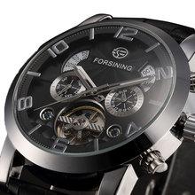 Luxury Brand New Automatic Self-Wind Mechanical Wrist Watch Mens Dress Watches Gift for Weding W153401(China (Mainland))