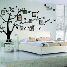 Buy 3D Sticker Wall Black Art Photo Frame Memory Tree Wall Stickers Home Decor Family Tree Wall Decal for $8.97 in AliExpress store