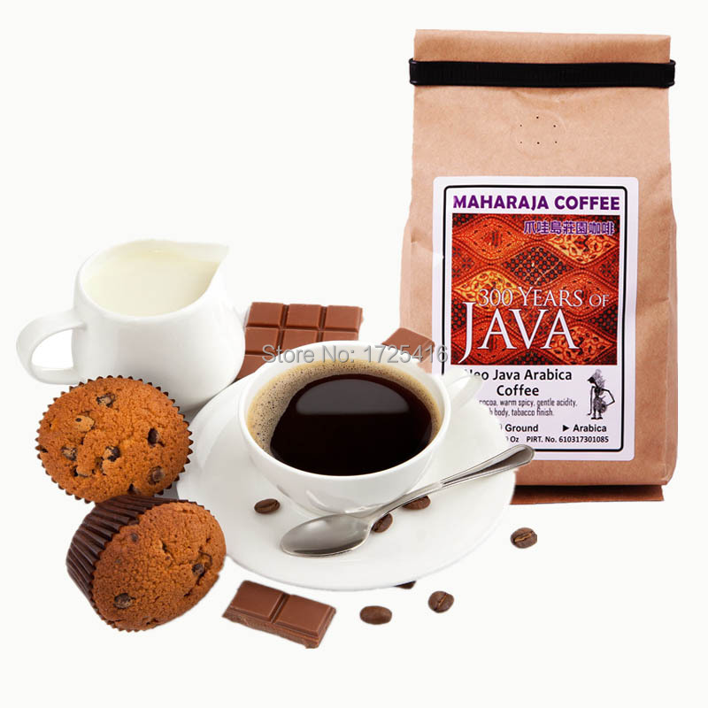 Indonesia imported Coffee Java beans Maharaja manor Coffee 200g free shipping