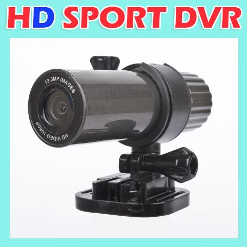 HD 1080P Sport Camera Action Waterproof Video Recorder TV OUT Helmet Bike DVR
