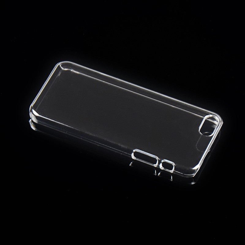 4 4s 5c Capa Cheapest Pure Crystal Clear Plastic PC Hard Case for iphone 6 6s Ultrathin Phone Shell Back Cover Transparent nh502(China (Mainland))