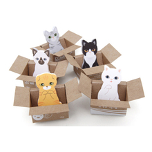 free shipping Hot Sale Funny Kitty House It Sticker Post It Bookmark Mark Tab Memo Sticky Notes